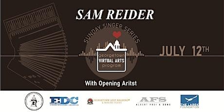 Virtual Arts-Sunday Singer Series: Sam Reider tickets