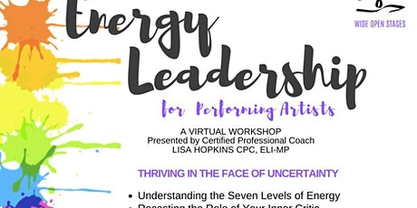 Energy Workshop for Performing Artists tickets