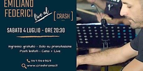 Jazz Do It // Emiliano Federici live al Crash Roma tickets