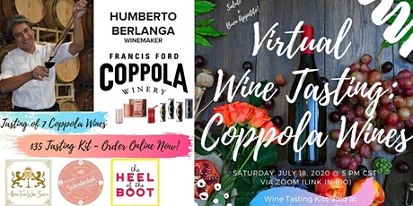 Virtual Wine Tasting w/ Francis Ford Coppola Winery tickets