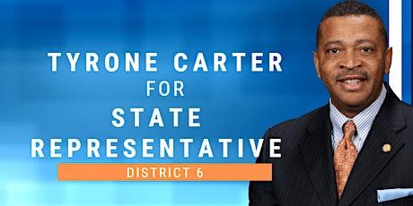 State Representative Tyrone Carter - Campaign Fundraiser tickets