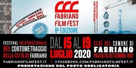 FABRIANO FILM FEST - Festival Internazionale del Cortometraggio - 8° ed. biglietti