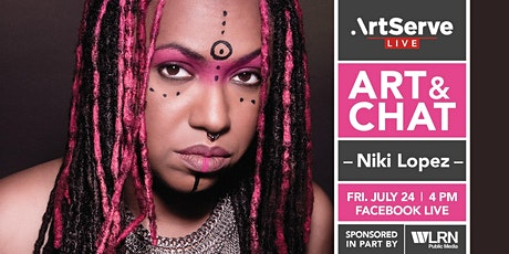 Art & Chat w/Niki Lopez tickets
