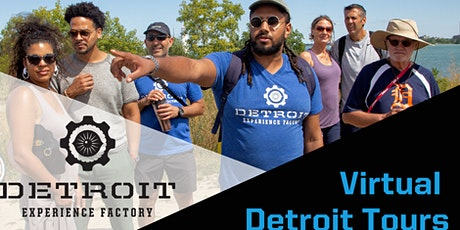 Detroit 101 Virtual Tour tickets