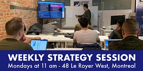 IOTAF Weekly Strategy Session tickets