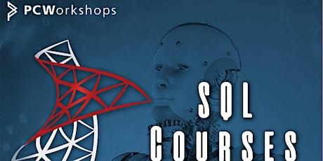 SQL Course, SQL Intermediate 3-Day Course, Webinar virtual classroom. tickets