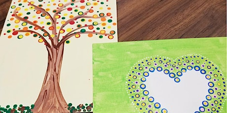 Dot Canvas Painting-Riverview Recreation Youth Summer Program tickets
