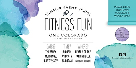 Bar Basics with Bar Method Pasadena | Fitness Fun Series tickets