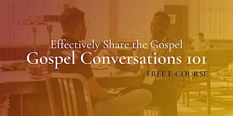 Gospel Conversations E-course tickets