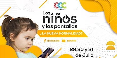 Los niños y las pantallas: ¿La nueva normalidad? entradas