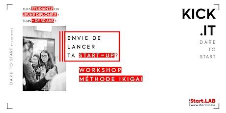 Kick.it - Workshop *Méthode Ikigai* billets