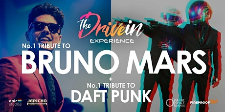 BRUNO MARS/DAFT PUNK Tribute at Stowmarket Drive-In Experience tickets