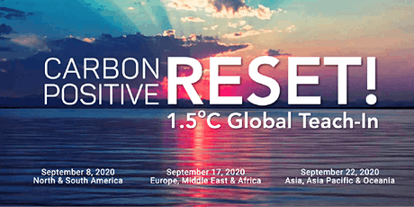 Region 3: CarbonPositive RESET! 1.5C Global Teach-In tickets