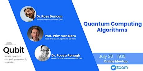 Online meetup: Quantum Computing Algorithms tickets