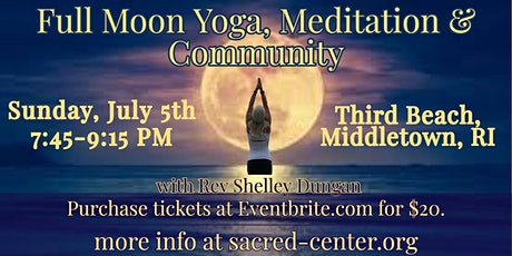 Full Moon Yoga, Meditation & Community tickets