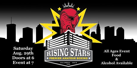 Rising Stars Boxing August 29th 2020 tickets