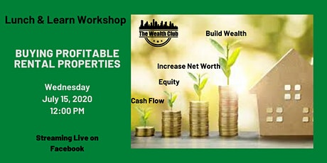 Lunch & Learn Workshop - Buying Profitable Rental Properties tickets