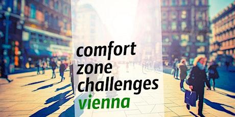 Comfort zone challenges'vienna #23 tickets