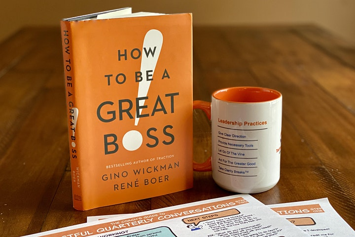 """""""How to Be a Great Boss"""" Online Workshop 10/20/2020 image"""