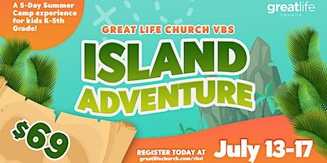 "Kids Camp 2020 ""Island Adventure"" tickets"