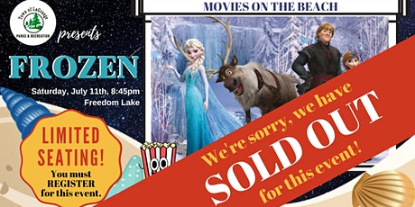 Movies On The Beach - Frozen! - SOLD OUT! tickets
