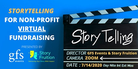 Storytelling for Non-Profit Virtual Fundraising tickets