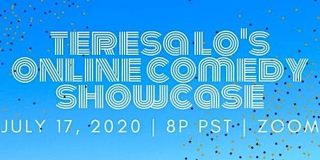 Teresa Lo's Online Comedy Showcase (7.17.20) tickets