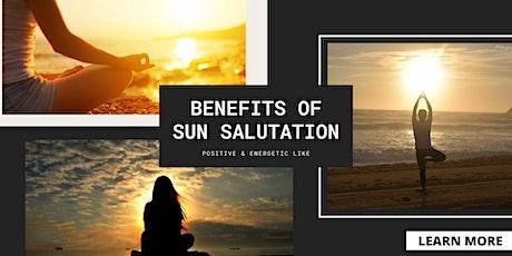 SUN Salutation for VITALITY & LONGEVITY tickets