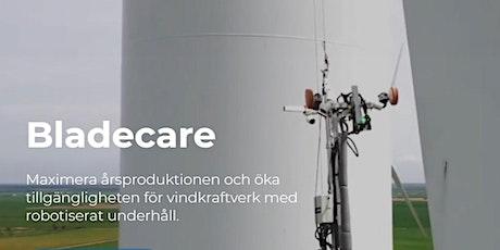 En introduktion till robotiserat underhåll av rotorblad - Bladecare  AB. biljetter