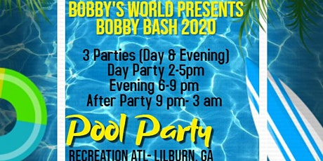 Bobby Bash 1st Annual Pool Party 2020 tickets
