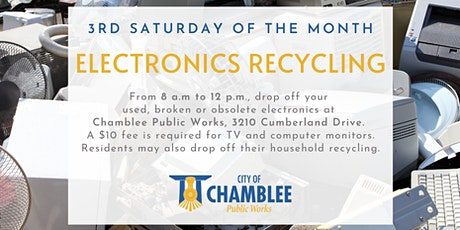 City of Chamblee Electronics Recycling Event tickets