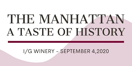 The Manhattan - A Taste of History tickets