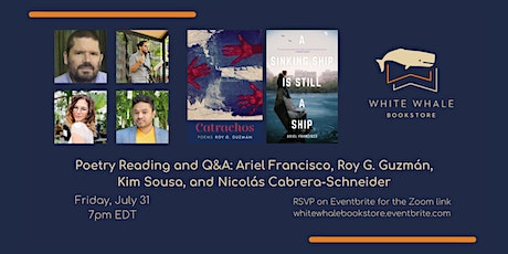 Poetry Reading and Q&A: Francisco, Guzmán, Sousa, Cabrera-Schneider tickets