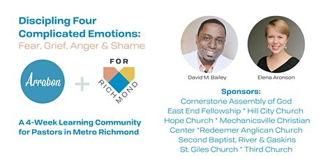 Discipling 4 Complicated Emotions: Fear, Grief, Anger & Shame tickets