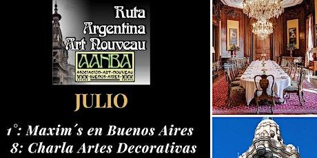 Artes Decorativas en la historia: Charla Intro al Mobiliario Art Nouveau entradas