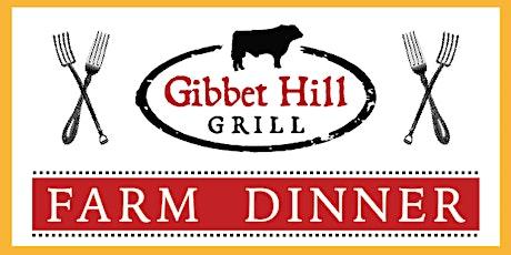 Gibbet Hill Farm Dinner • July 8, 2020 tickets