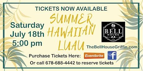 Summer Hawaiian Luau tickets