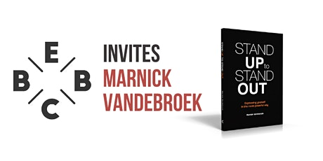 EBBC invites Marnick Vandebroek -  How to express yourself the powerful way tickets