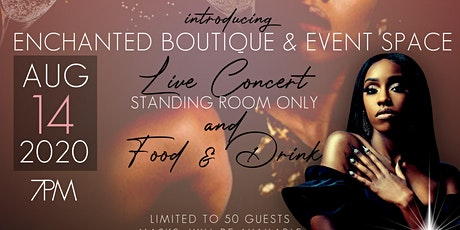 GRAND OPENING/LIVE CONCERT + BIRTHDAY CELEBRATION W/ CHANSON CALHOUN tickets