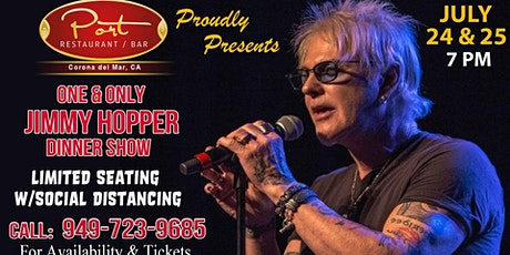 One & Only Jimmy Hopper at PortCdM Dinner Show tickets