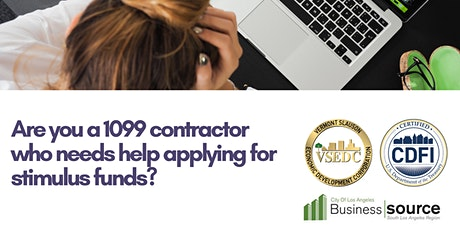Stimulus Relief for 1099 Entrepreneurs: Independent Contractor & More tickets