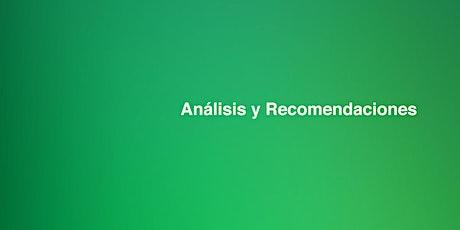 Análisis y Recomendaciones [Charla de Mercado] bilhetes