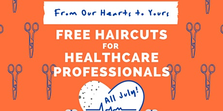 Free Haircuts for Healthcare Professionals tickets