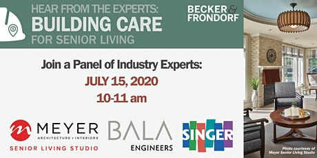 Hear From the Experts: BuildingCARE for Senior Living tickets