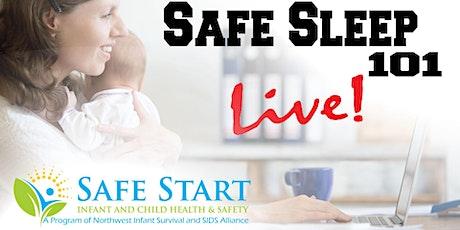Safe Sleep 101 *LIVE Online* tickets