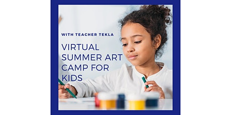 Virtual Summer Kids Camp: Watercolor Painting tickets