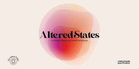 AlteredStates tickets