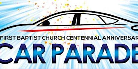 First Baptist Church Car Parade tickets