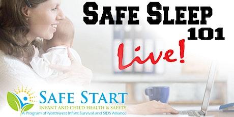 Safe Sleep 101 *LIVE online tickets