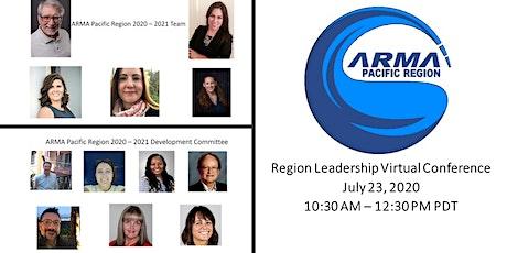 2020 ARMA Virtual Pacific Region Leadership Conference tickets